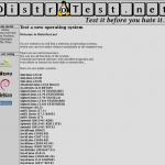 Prueba más de 100 Sistemas Operativos GNU/Linux y Unix en línea.